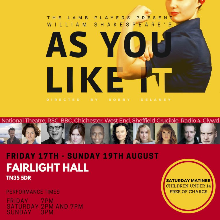 As You Like It- The Lamb Players at Fairlight Hall